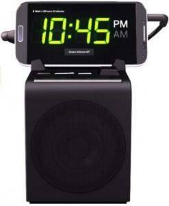 Hale dreamer alarm clock speaker dock for android phones