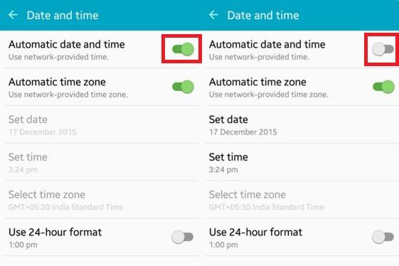 дата и время на фото андроид