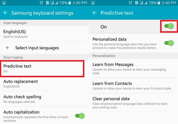 how to change langauge on android 6.0