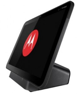 Android dock for Motorola Xoom