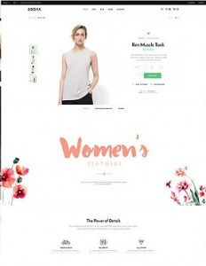Bronx responsive WordPress themes for ecommerce 2016