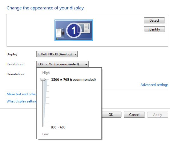 How to change screen resolution windows 7 - BestusefulTips