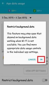 How to reduce mobile data usage android lollipop