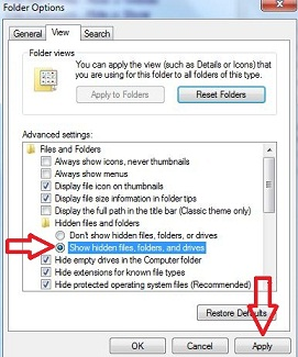 How to show hidden files and folder in Windows 7 Computer Folder In Windows on windows 7 pen, windows 7 games folder, windows 7 accessories folder, windows 7 notification area, windows 7 home folder, windows 7 hard drive, apple computer folder, windows 7 book, windows 7 notebook, windows 7 close button, windows 7 jump list,