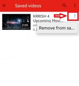 How to watch offline YouTube video android