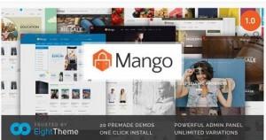Mango responsive WordPress themes for ecommerce