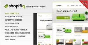 Shopifiq Responsive WordPress themes for ecommerce 2016