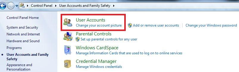 how to create user in ncomputing windows 7