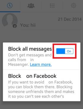 How to stop facebook dating apps on android