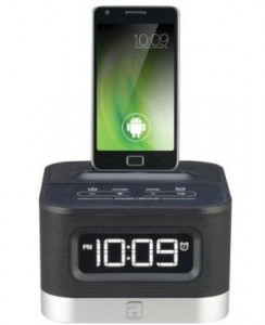 iHome android charging dock with speakers 2016