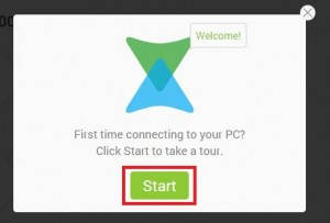 Connect Xender to PC
