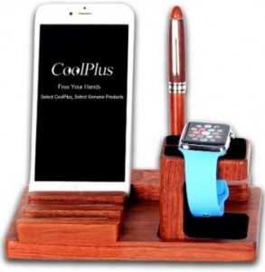 CoolPlus wooden dock station for android