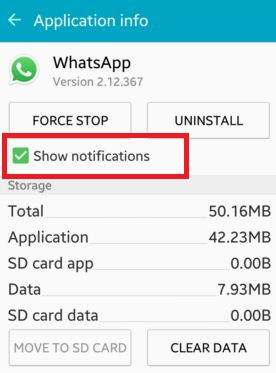 How to enable / disable push notifications android ...