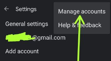 Manage multiple Google accounts on Android Device