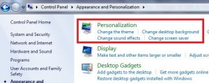 Tap on personalization