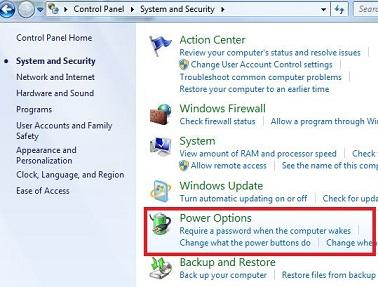 Best performance option windows 7