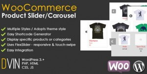 Woocommerce product slider plugin for wordpress