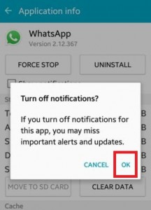 disable push notifications android lollipop