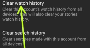 How To Delete YouTube Watch History on Android Device
