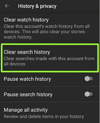 How To Delete YouTube Watch History on Android
