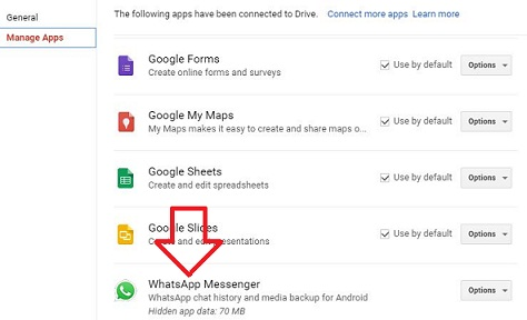 how to delete whatsapp backup from google drive in android. Black Bedroom Furniture Sets. Home Design Ideas