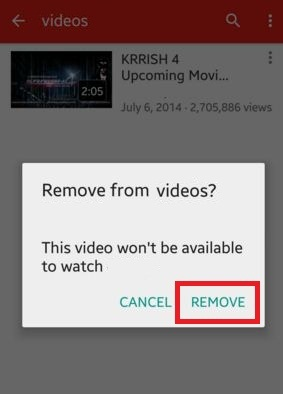 How to delete youtube videos android phone or tablet how to delete youtube videos android phone tablet ccuart Image collections