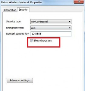 How to show wifi password windows 7 laptop