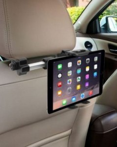 Macally car seat mount holder for tablets