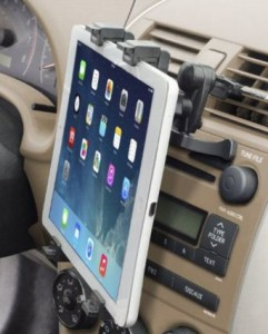 Okra car mount holder for tablets