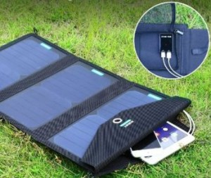 Aukey solar charger for android phone