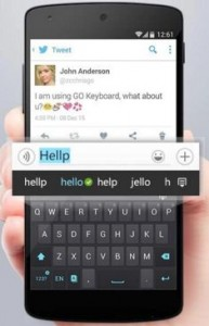 Go android keyboard apps