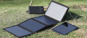 Levin solar panel charger for android phone
