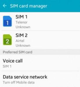 SIM Card manger