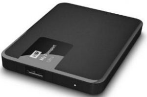 Western digital portable hard disk drive