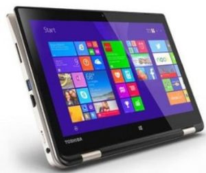 Toshiba 2in1 touchscreen laptop deals