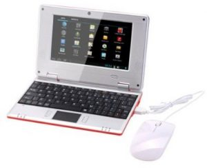Atoah mini notebook computer for children