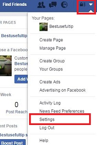 tap-on-settings-in-facebook