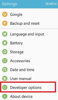 How to change usb settings android phone: marshmallow