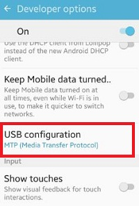change-usb-configuration-android-phone