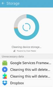 delete unnecessary files android