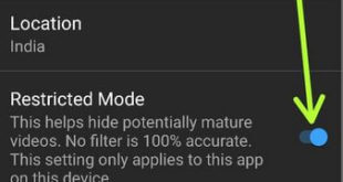 How to Enable Restricted mode YouTube Android