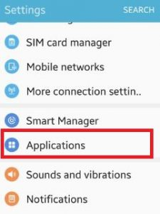 open-application-under-settings-opt