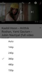 Change YouTube Video Quality marshmallow