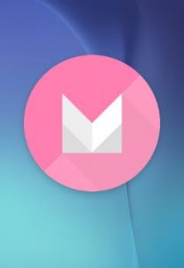 Android Marshmallow logo seen