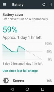 extend battery life on nougat