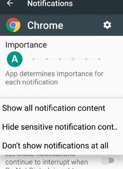 How to turn off lock screen notifications android Nougat 7 ...