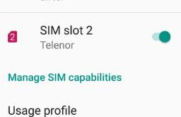 SIM card not recognized android