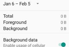 disable app background data android