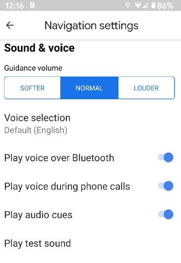 Fix Google Maps Voice Navigation Not Working Android