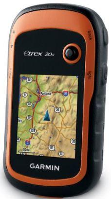Garmin eTrex 20X GPS navigation system